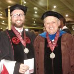 UA Graduation May 2016. Dr. Daniel A. LaDu and advisor, Dr. Ian W. Brown.